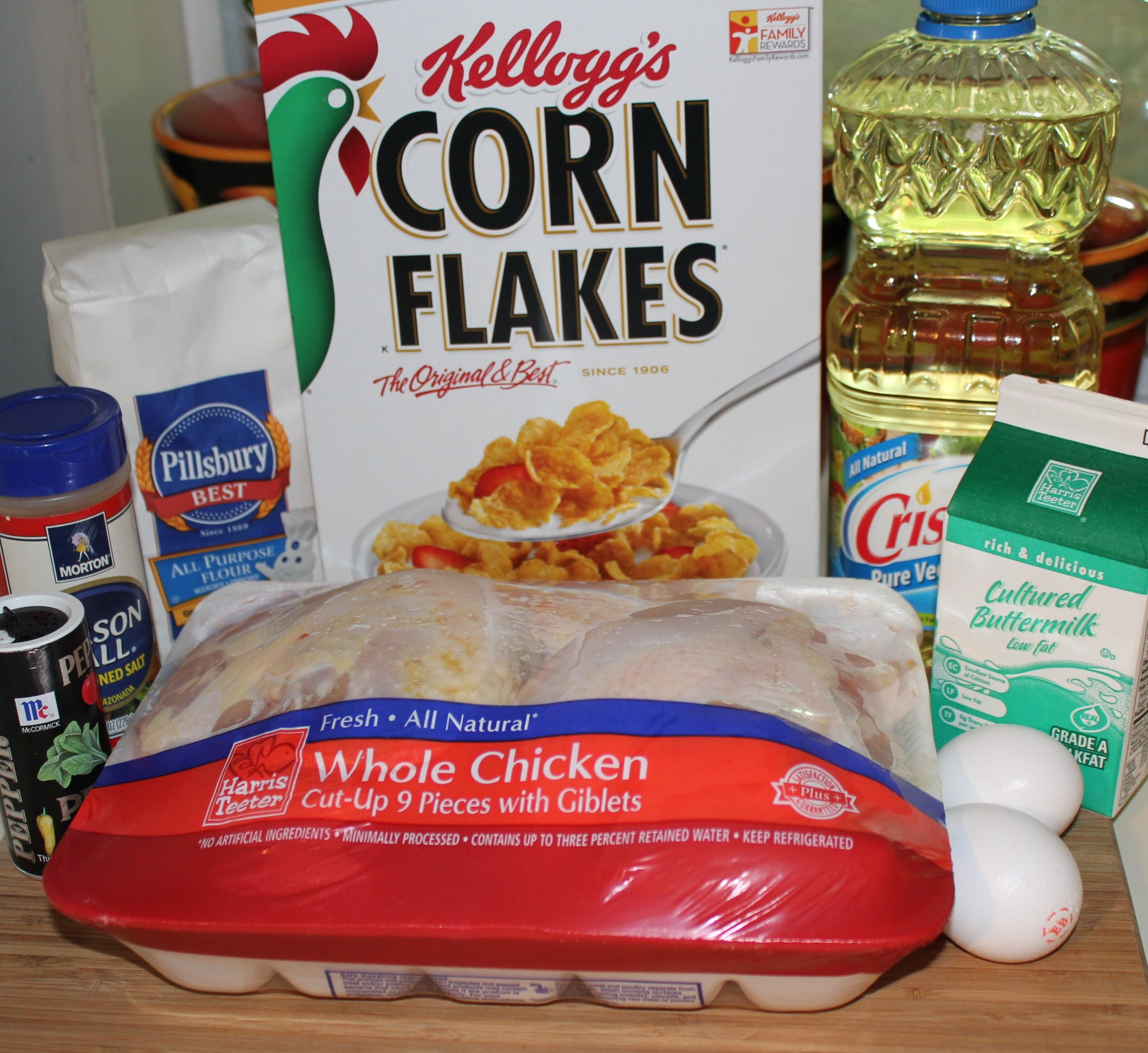 Kel's Crunchy Fried Chicken ingredients